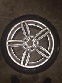 GENUINE BMW 351 FRONT F10 F11 M SPORT 19 ALLOY AND TYRE