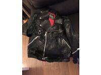 Vintage Campari Sport Leather Jacket