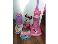 Bundle girls toys, minnie mouse toys