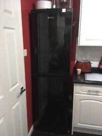 Beko fridge freezer black A+