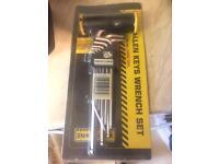 Alan key wrench set