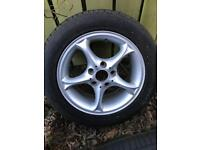 BMW alloy spare wheel with great tyre 225/50/16