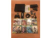 Xbox 360 Console with Hard drive plus 10 games - £69