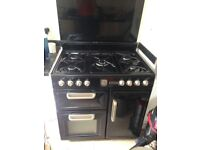 Rangemaster double cooker and hob