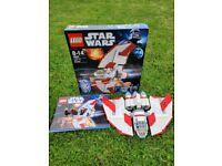 Lego Star Wars Jedi T-6 Shuttle Kit 7931 Complete