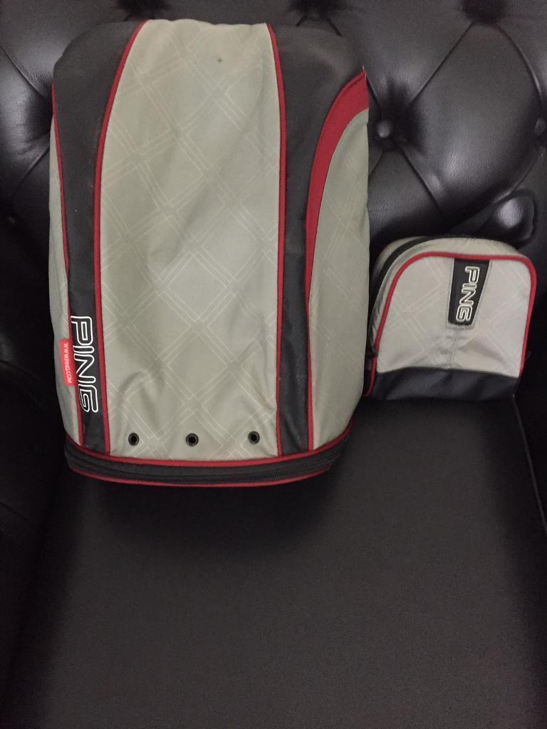 Ping golf shoe and valuables bag  e3af1179f23e9