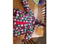 Girls gorgeous 1/2 year old rain coat