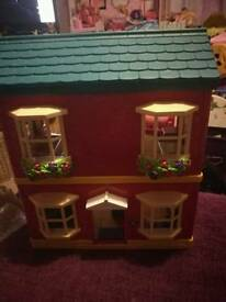 Happyland House with Sounds & Car & Figures x