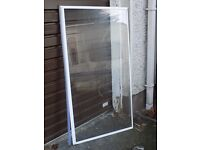 Shower screen clear panel
