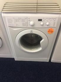 ***White Indesit 7kg 1200spin washing machine***Free Delivery**Fitting**Removal