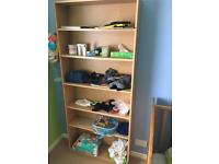 4 book cases FREE