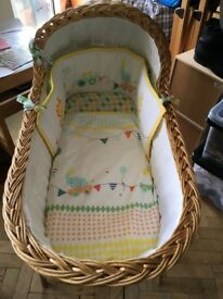 CRIB BEDDING INCLUDING MOTHERCARE BALE & SLEEPING BAGS IN EXCELLENT CONDITION