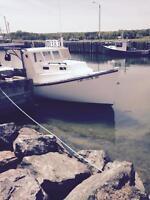 Fibreglass Fishing Boat
