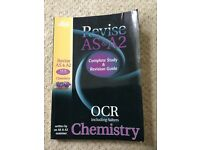 AS & A Level Chemistry OCR Letts Complete Study & Revision Guide Book