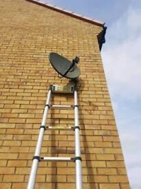 Sky dish installs