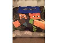 Minecraft Double Duvet cover