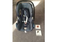 Maxi-Cosi CabrioFix car seat & EasyBase - birth to 15 months - with instruction manual