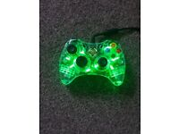 2 Xbox afterglow controllers.