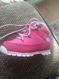 Pink Firetrap boots infant sz6