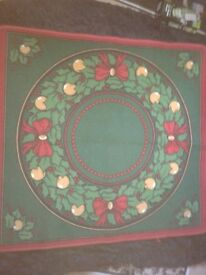 LARGE CHRISTMAS TREE MAT EXCELLENT