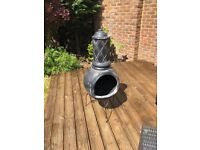 Chimnea with stand and cover