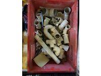 Box of plumbing connectors