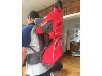Vaude baby and toddler back pack.