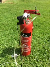 Aquarium CO2 System Fire Extinguisher - Used - near Ferndown