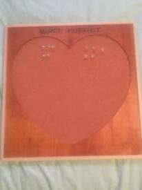 Next Heart cork board