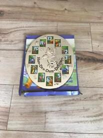 Winnie the Pooh silver plated photo frame