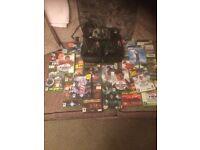 Original X Box, controllers, loads of games