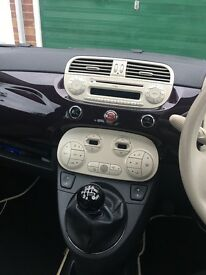 Fiat 500 lounge 0.9 twin air ** Full Service History**