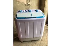 Portable Superbrite Twin Tub Machine/Spinning Machine - for Caravans, Static Caravans, Outhouses