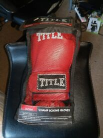 Title Champ Boxing Gloves