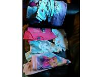 Girls Frozen clothes ages 5-6 and 6-7