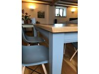 Wood and Slate table - beech