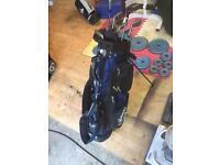 Golf setup Titleist set