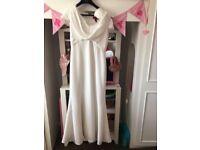 Ivory bride/bridesmaid dress size 12