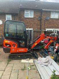 Digger Hire, mini Digger Hire, dumper Hire - with or without operator. Located near Heathrow