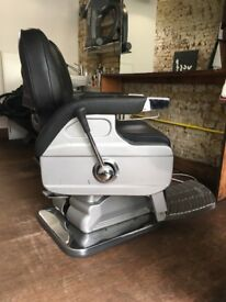 BARBER CHAIR FOR SALE RECENTLY UPHOLSTERED