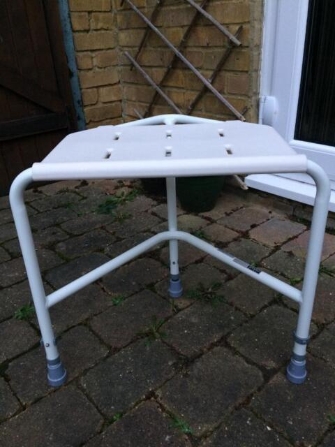Awesome Corner Shower Seat Height Adjustable In Sittingbourne Kent Gumtree Caraccident5 Cool Chair Designs And Ideas Caraccident5Info