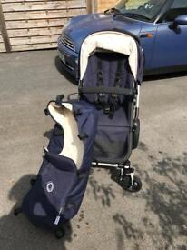 Bugaboo cam 3 Navy cream quilted