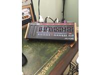 Roland ju 06 with wood end cheeks