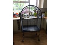 Parrot cage for large bird
