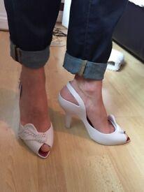 Vivienne Westwood wing heeled shoes