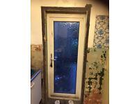 UPVC double glazed door 830 x 1980