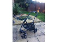 Graco EVO EXT PRAM & COT - excellent condition