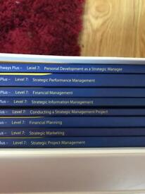 Chartered Management Institute Pathways Plus set of 8 Units