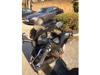 Honda forza 125, low mileage, very good condition with light scratches, mot done until 2018