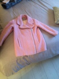 Next kids pink coat age 5/6